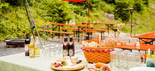 Ferienpark Thüringer Wald - Biergarten